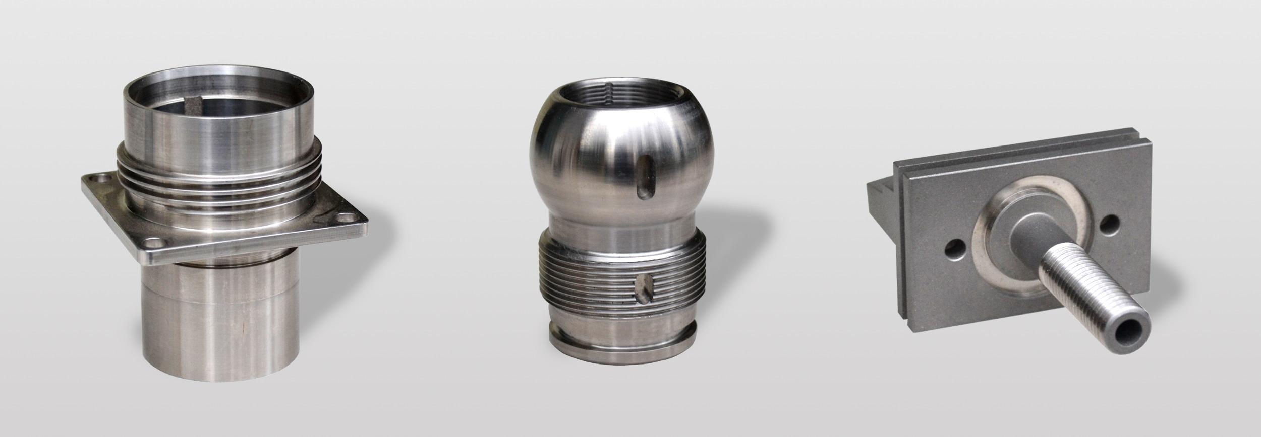 Custom machining components